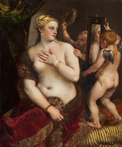 Titian, Venus with a Mirror, 1555.