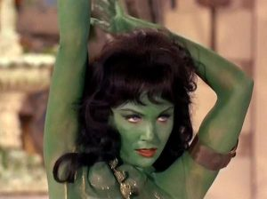 The infamous Orion slave girl.